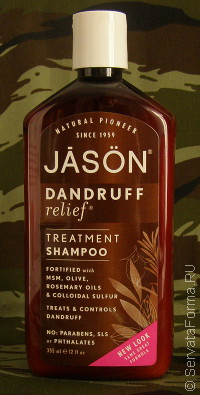 JĀSÖN. Dandruff Relief® Treatment Shampoo. Флакон